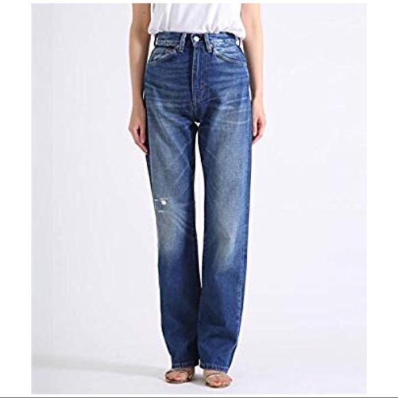 2941c6ed60c Levi s Vintage 507 Womens Jeans Selvedge Big E